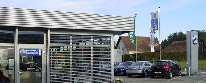 Autohaus Martin Theisl, Ihr Spezialist für VW, Audi, Nutzfahrzeuge, Gebrauchtwagen. Fachwerkstätte mit kompetenten Service, Lackiererei und Spenglerei.